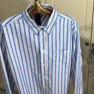 Aeropostale Striped Dress Shirt Men's